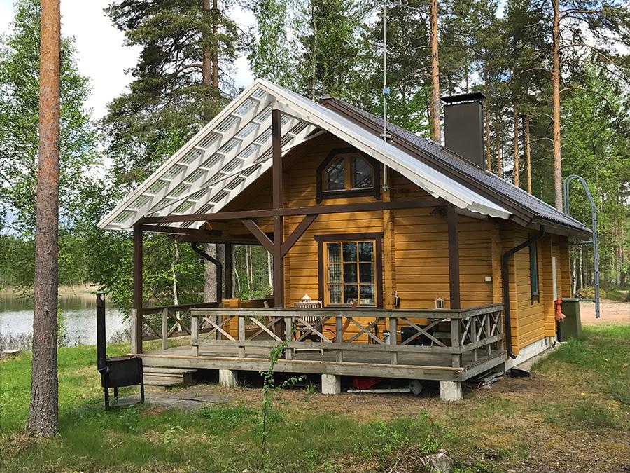 Munaniemen mökki vuokrattavana Kangasniemellä, Tiiholan kylässä!